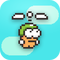 Swing Copters iPhone iPad Spiel